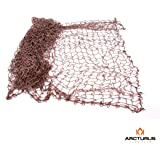 "Ghillie Netting - 5' X 9' Netting for Ghillie Suit Sniper Kits - 1.25"" Holes"