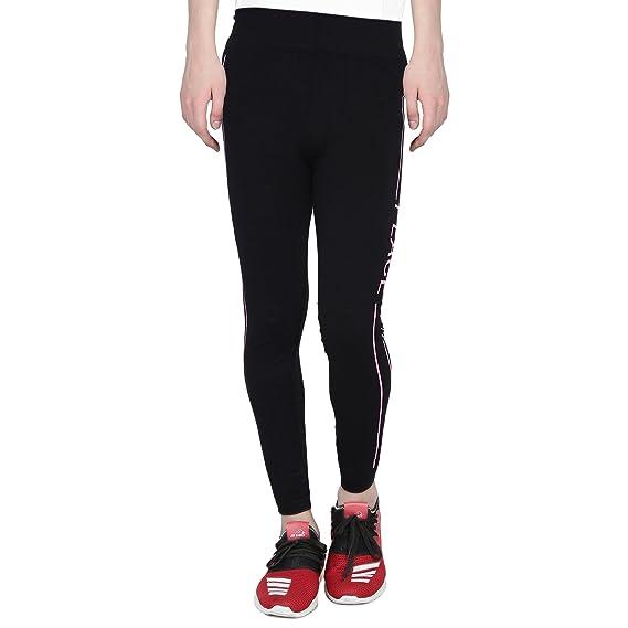 3e677d17 CAMEY Women's Cotton Stretchable Yoga Pant (Black_ Free Size ...