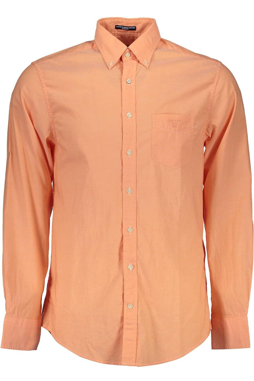 5708Q camicia uomo GANT REGULAR FIT PINPOINT OXFORD bianco shirt long sleeve men GANT6200