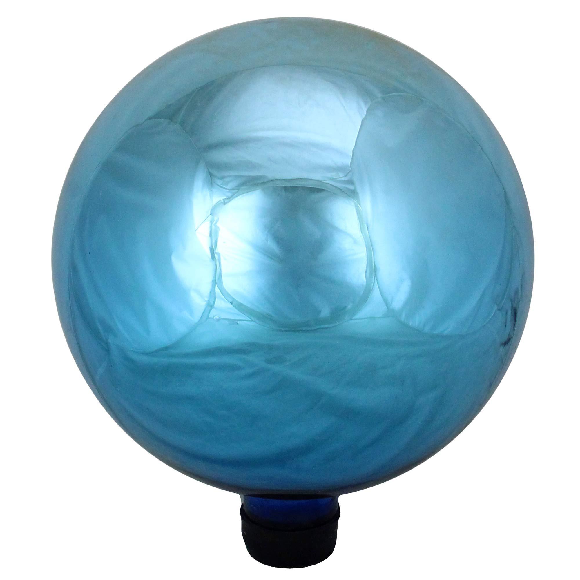 Northlight 10'' Shiny Turquoise Outdoor Patio Garden Gazing Ball