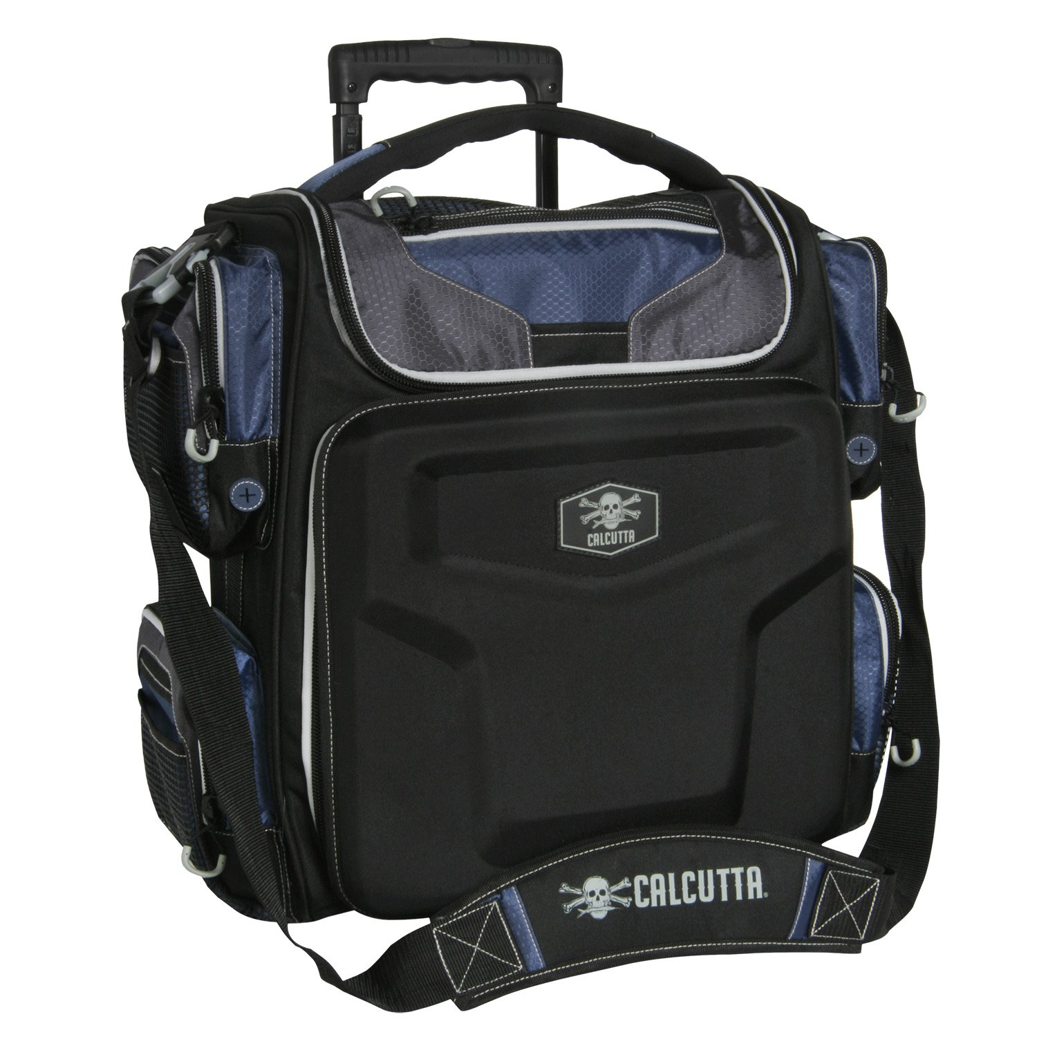 Calcutta Explorer Rolling Tackle Bag with 5 3700 Trays by Calcutta