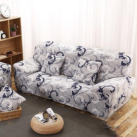 Amazon.com: Jacquard de poliéster Spandex funda para sofá ...