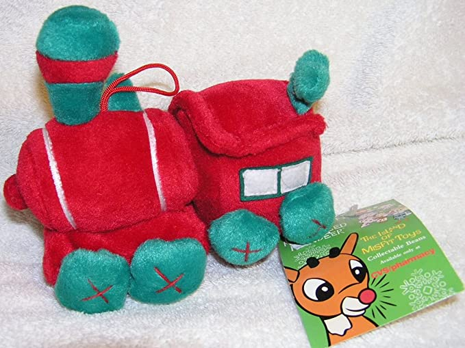 Rudolph Island of Misfit Toys 7 Plush 50th Anniversary Rudolph CVS Bean Bag from 1999 by Rudolph