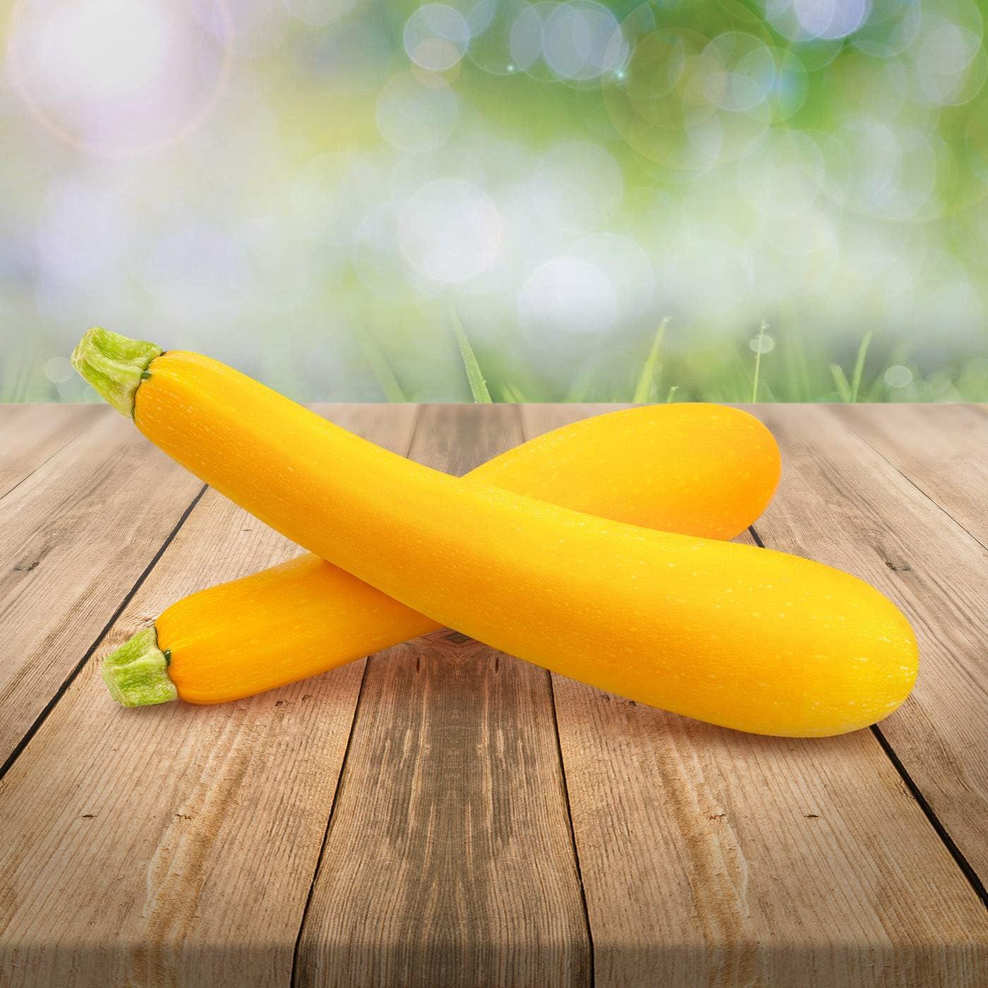 Gelbe Zucchini 5 frische Samen zartes leckeres Gemüse mediterrane Küche