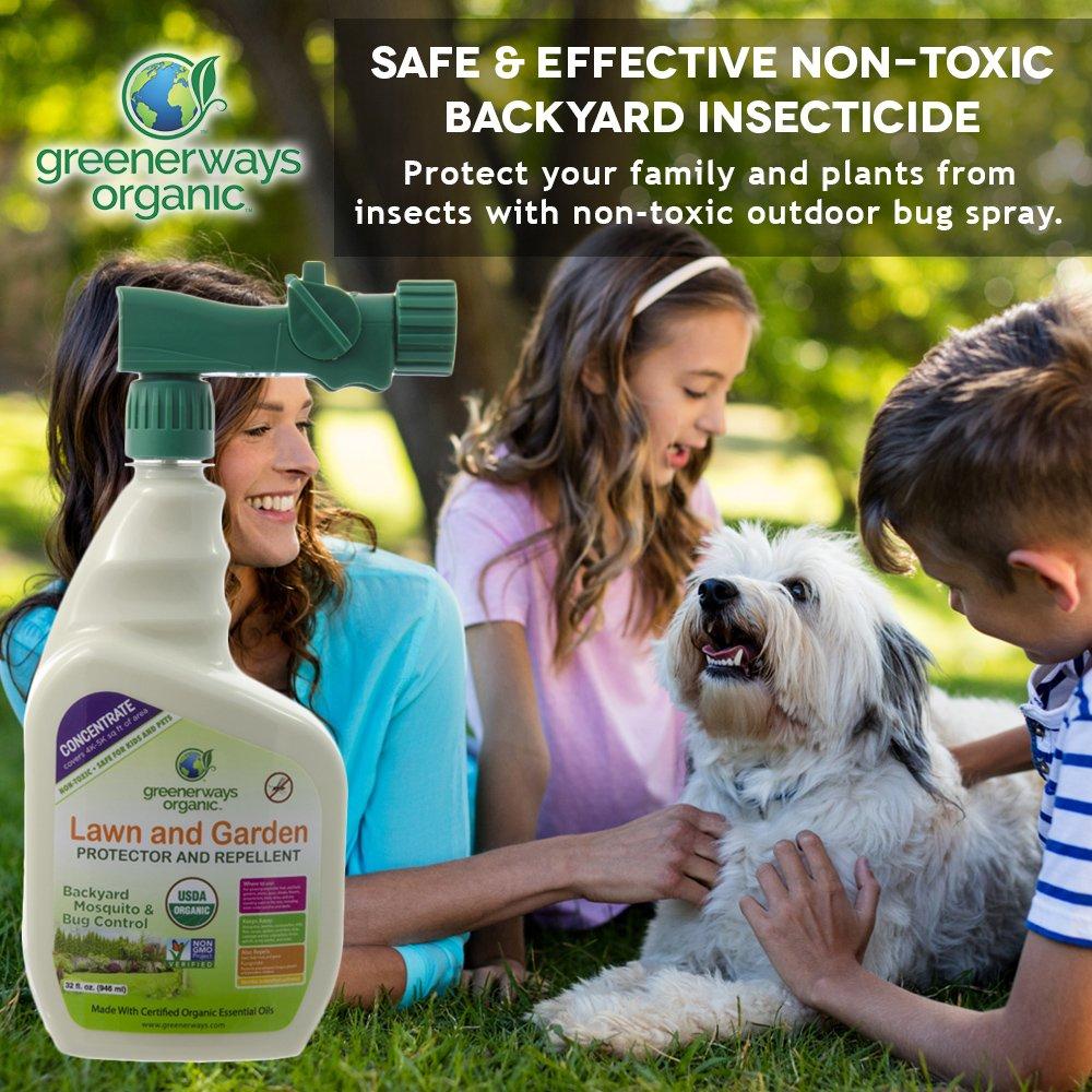 amazon com greenerways organic insecticide backyard insect
