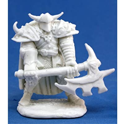 Reaper Norgol, Irongrave Knight (1) Miniature: Toys & Games