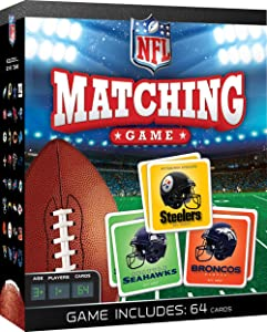 MasterPieces NFL Matching Game, Includes 64 Cards for Ages 3+