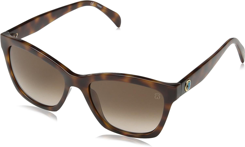 Tous Mujer STO996 Gafas de sol, Marrón (Shiny Dark Havana)