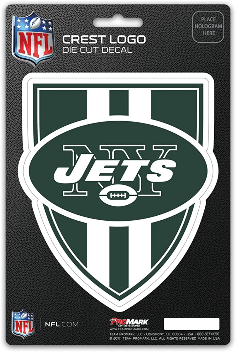 NFL New York Jets Shield Decal