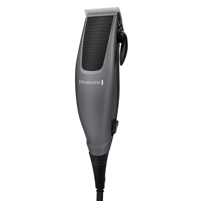Remington HC1090 Home Barber Haircut Kit, Black/Silver