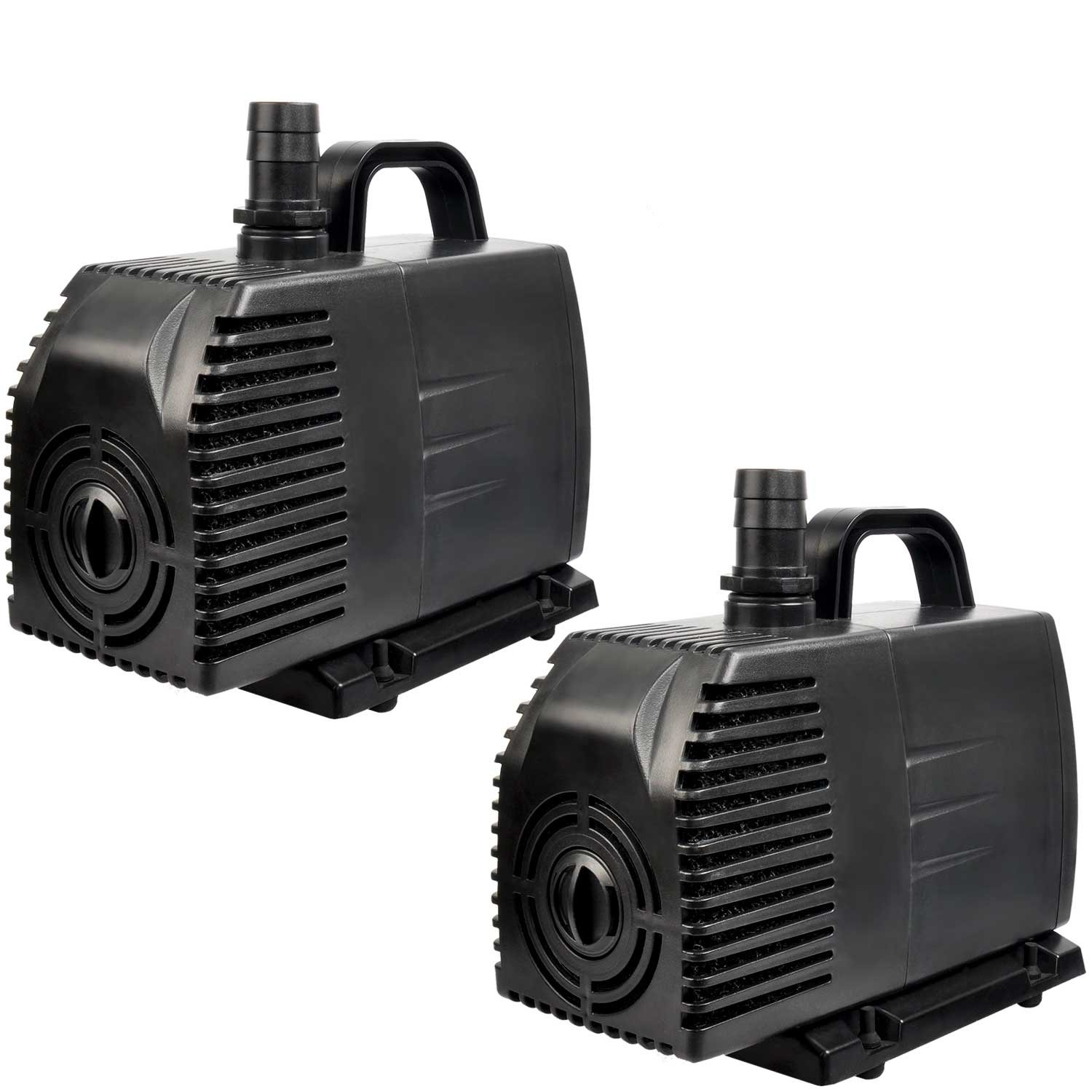 Simple Deluxe 1056 GPH UL Listed Submersible Pump with 15' Cord, Water Pump for Fish Tank, Hydroponics, Aquaponics, Fountains, Ponds, Statuary, Aquariums LGPUMP1056G