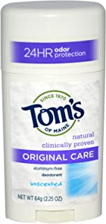 product image for Tom's of Maine, Original Care Deodorant, Unscented, 2.25 oz (64 g) (pack of 2)