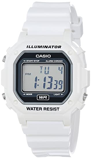 17a23327a Amazon.com: Casio Unisex F-108WHC-7ACF Classic White Resin Band Watch: Casio:  Watches