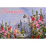 Hummingbirds - Blank Card Assortment by Leanin' Tree (AST90633) - 20 cards with full-color interiors and 22 designed envelopes
