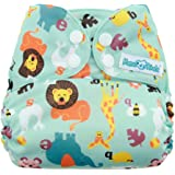 Mama Koala One Size Pocket Cloth Diaper, Animal Alphabet
