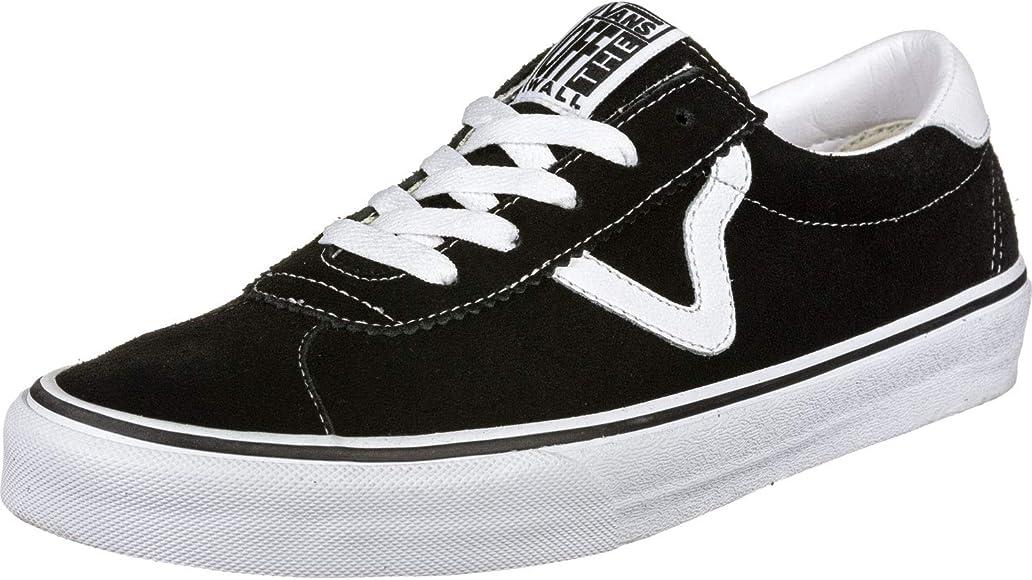 Amazon.com | Vans Sport (Suede) Black