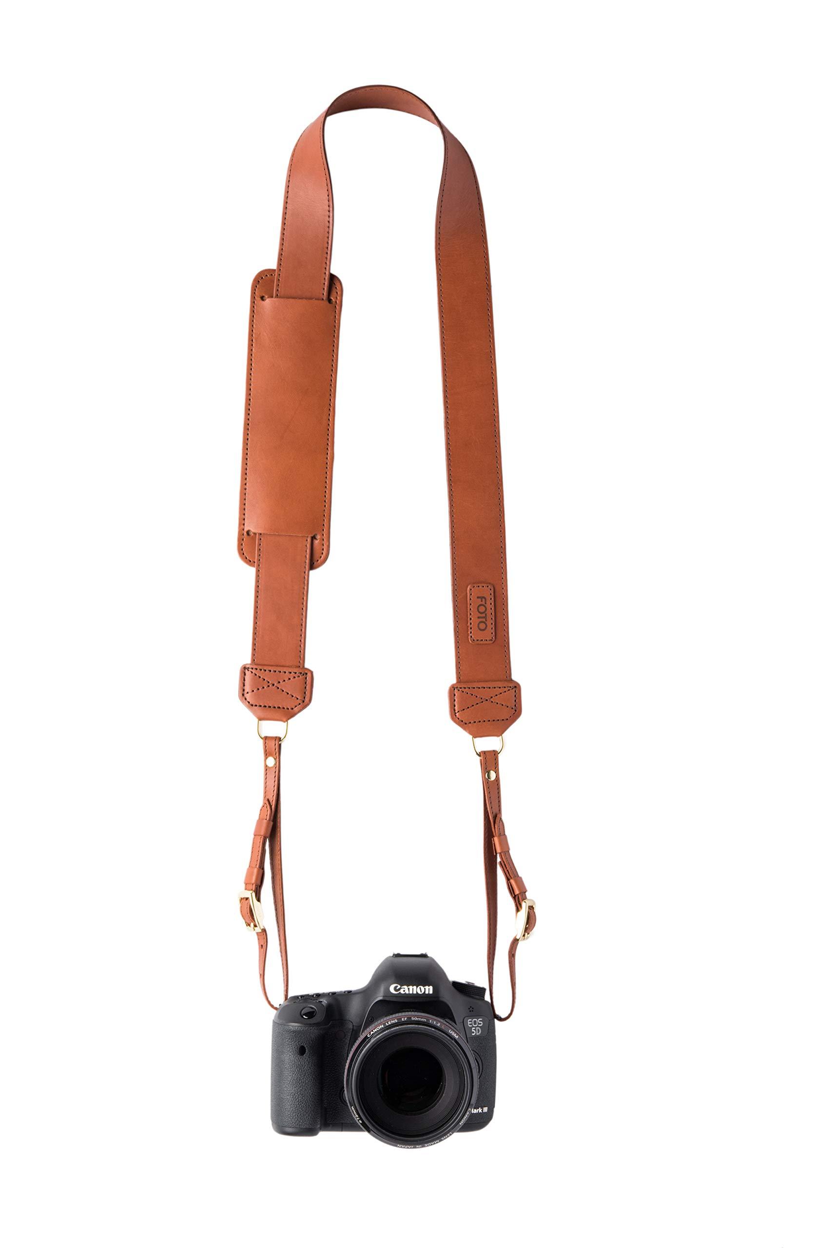 James Fotostrap Leather Camera Strap by Fotostrap
