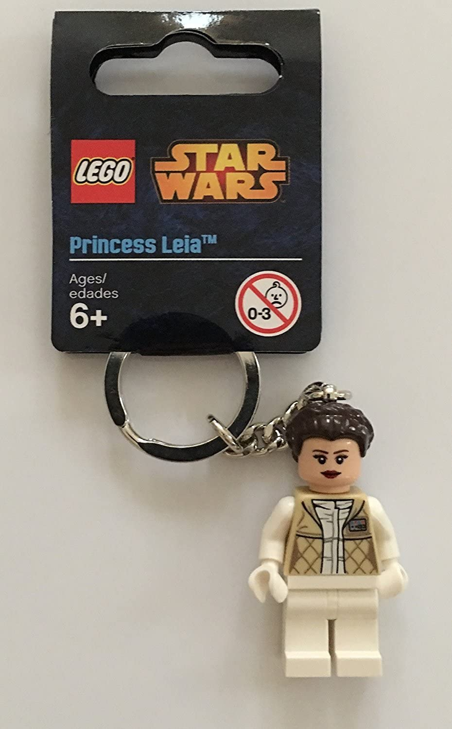 LEGO Star Wars Princess Leia Minifigure Key Chain 850997