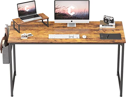 Cubiker Computer Desk 63 Inch Home Office Writing Desk Student Study Desk