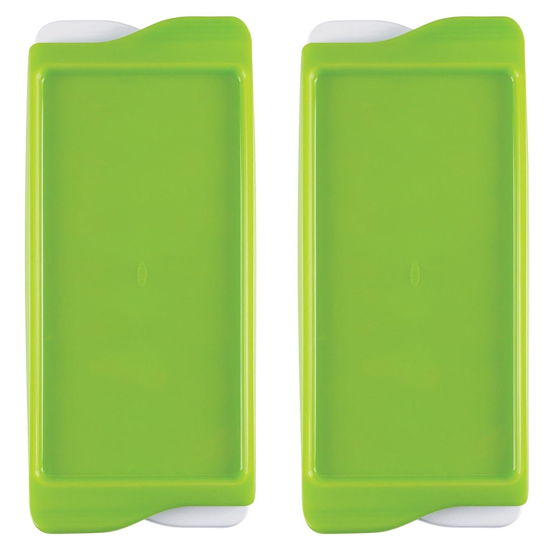 【2019春夏新色】 OXO Totベビーフード冷凍庫トレイ B00BI2VF3U、保護カバー付き、2個入り OXO B00BI2VF3U, 特殊品クリーニング oliveショップ:c902708a --- ciadaterra.com