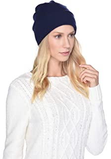 UGG Womens Two Color Beanie in Navy Multi at Amazon Women s Clothing ... 43dbfcfedadb