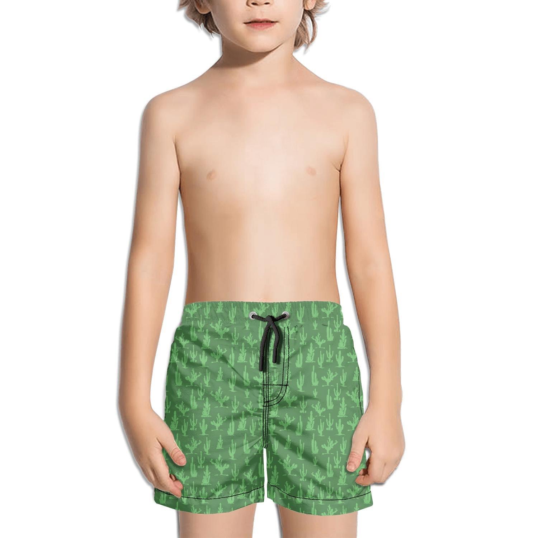 Custom Llama Alpaca and Cactus Printed Little boy Summer Short