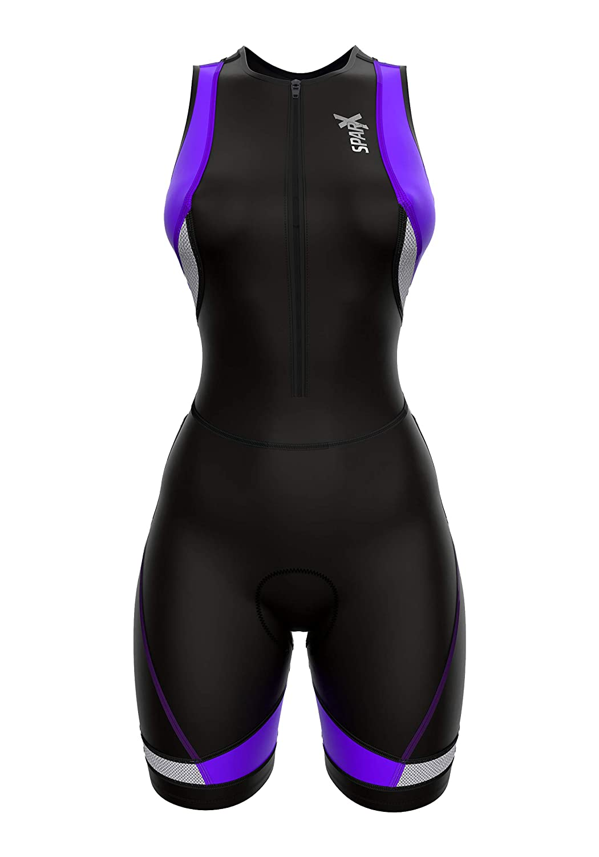 Sparx Womens Triathlon Suit Tri Race Suit Women Trisuit Compression Running Swimming Cycling Skinsuit