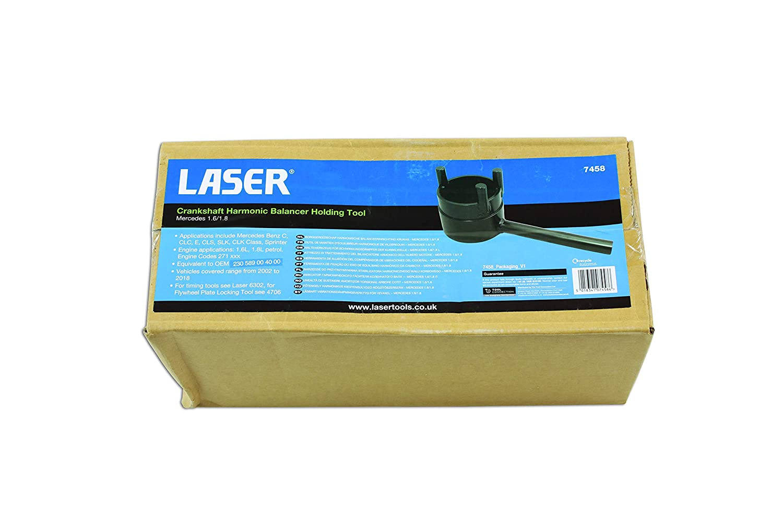 Laser 7458 Crankshaft Harmonic Balancer Holding Tool-Mercedes 1.6//1.8