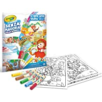 Crayola Color Wonder Fairytales, Mess Free Coloring Pages & Markers, Gift for Kids, Age 3, 4, 5, 6, Multi