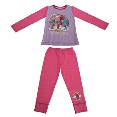 TROLLS - Pijama Modelo Dreams para niña (9/10 años