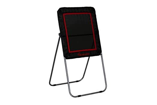 Gladiator Lacrosse Professional Bounce Pitch Back – Best Lacrosse Rebounder for Small Spaces