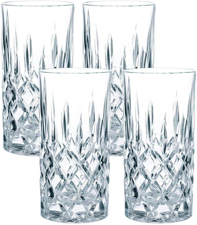 Nachtmann Noblesse 4 Pieza(s) 375 ml - Vasos Largos (Transparente, Vidrio, 4 Pieza(s), Alrededor, Noblesse, 375 ml)