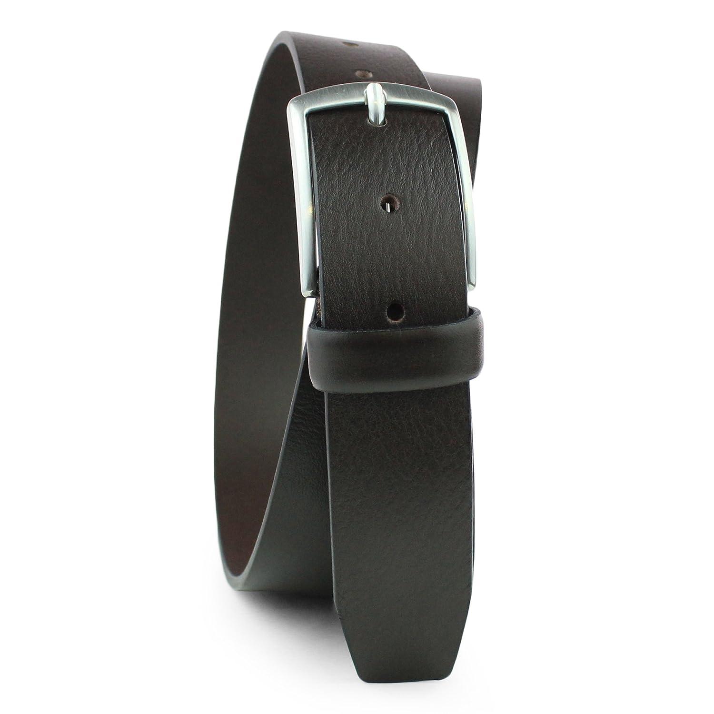 964f25941f17 Ceinture Cuir - Buffalo Belt - Biker Jeans Ceinture - 35 MM - Nickelfree  Boucle - XXL - Unisex Homme et Femme  Amazon.fr  Vêtements et accessoires