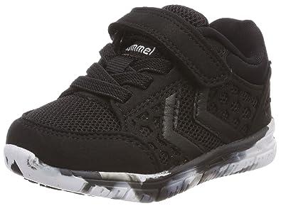 94537bf31c0 Hummel Unisex Babies' Crosslite Sneaker Infant Low-Top, Black, 18-24 ...