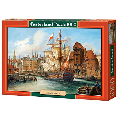 Castorland Copy of The Old Gdansk Puzzle (1000 Piece): Toys & Games