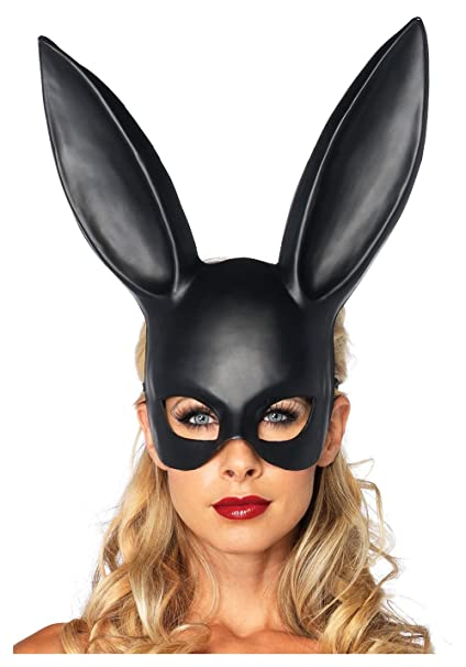 Masquerade Mask Lovely Adult Rabbit Bunny Half Face Mask Cosplay Costume Party