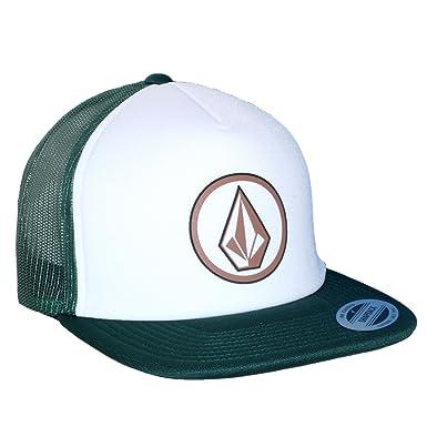 Volcom Full Frontal Cheese Logo Trucker Hat Navy Mens New