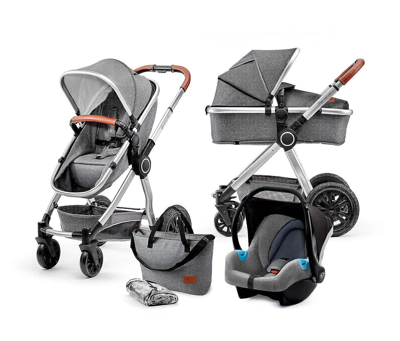 Kinderkraft VEO Kinderwagen 3 in 1 mit Zubehör