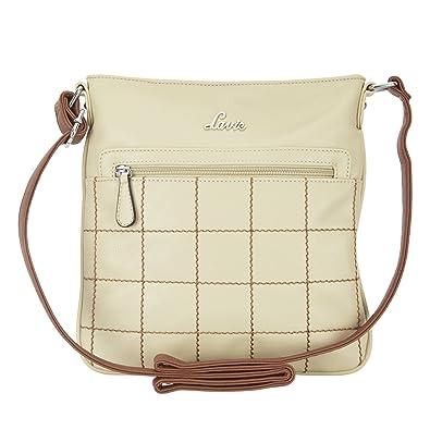 93a05b53f Lavie Luba Women s Sling Bag (Beige)  Amazon.in  Shoes   Handbags