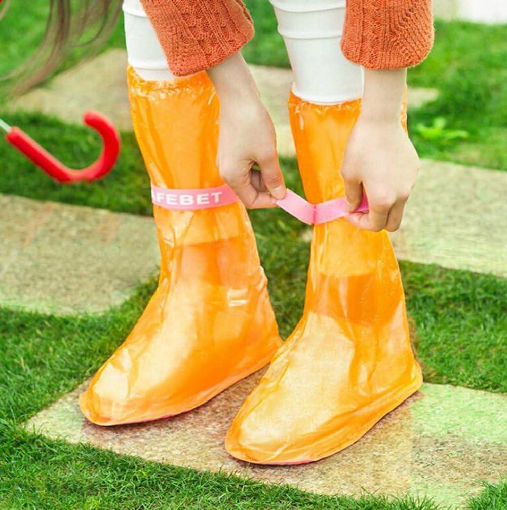 Hosaire 1x Schuhschutz /Überschuhe wasserdichte Schuh/überzieher Regen Schuhschutz Deckt Shoe Cover