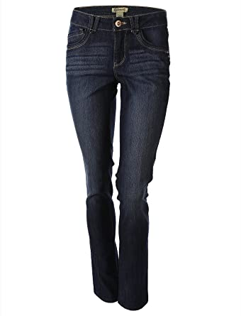 Democracy Women s Liberty Skinny Jeans with Embellished Back Pockets Blue Size  6 4e5edf6bf8