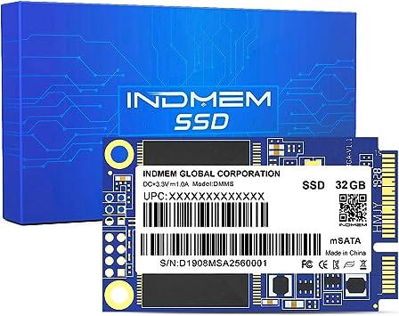 INDMEM - Disco Duro Interno SSD mSATA de 32 GB para Ordenadores ...