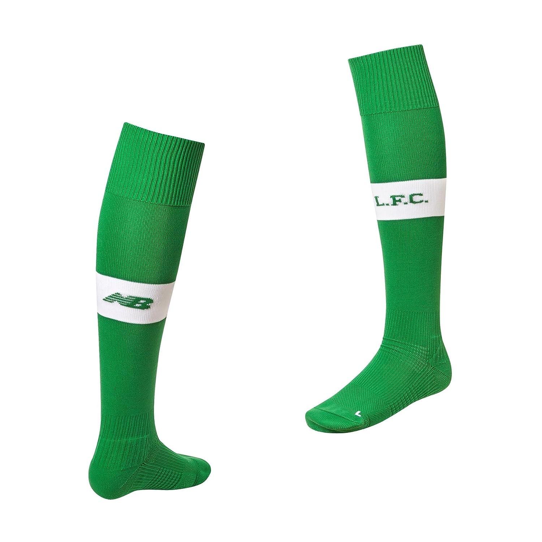 3082cfbbb 2017-2018 Liverpool Home Goalkeeper Socks (Green) - Kids  Amazon.co.uk   Clothing