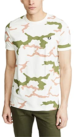 924f1f01 Amazon.com: Fred Perry Men's Camouflage T-Shirt: Clothing