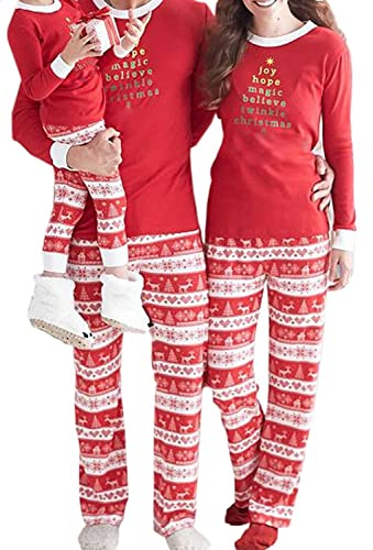 EGELEXY Christmas Family Matching Pajamas Sleepwear Sets for the Family XAMS Gift Dad X-Large