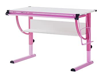 Robas Lund 40052GP2 Schreibtisch, Für Kinder, Höhenverstellbar, 60 X 118 X  93 Cm