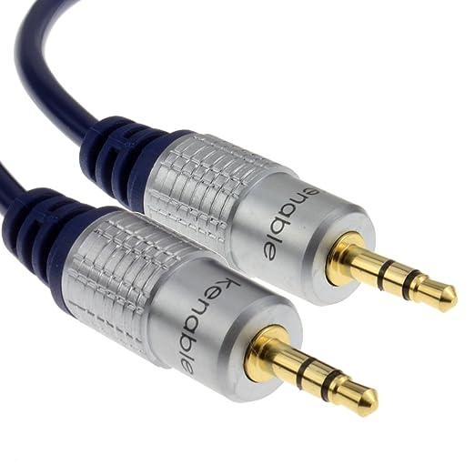 3 opinioni per Kenable™- HQ OFC cavo audio schermato, jack 3, 5 mm, connettori placcati oro,