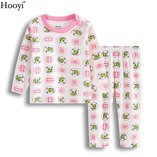 Hooyi Baby Girl Sleepwear Cotton TangBao Pijamas Suit (3-6month)