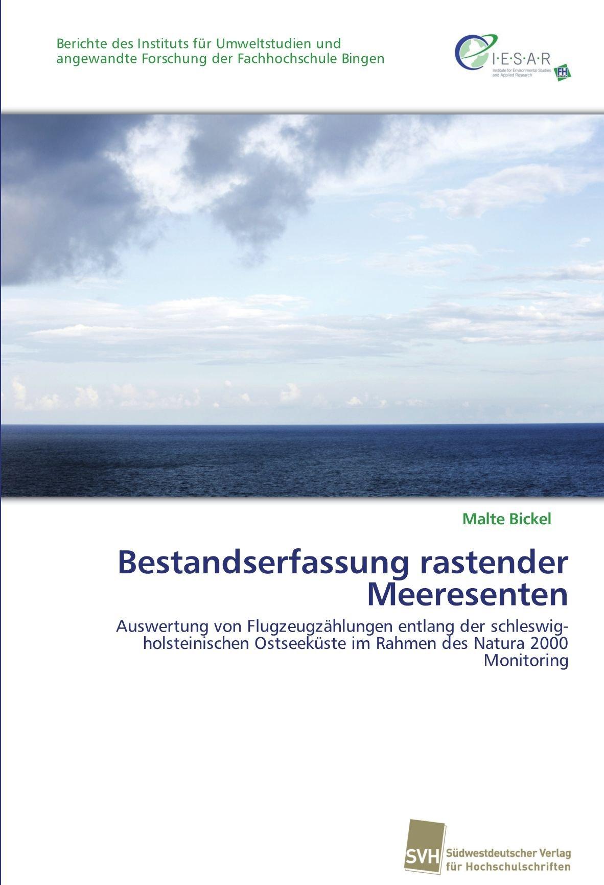 Bestandserfassung rastender Meeresenten: Auswertung von Flugzeugzählungen entlang der schleswig-holsteinischen Ostseeküste im Rahmen des Natura 2000 Monitoring