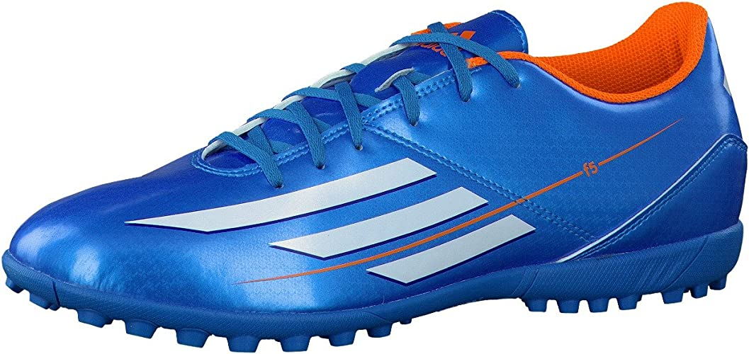 Estándar ventaja logo  adidas Men's F5 TRX TF Football Boots, mens, Blue - Solar Blue / Running  White / Solar Zest, 14: Amazon.co.uk: Sports & Outdoors